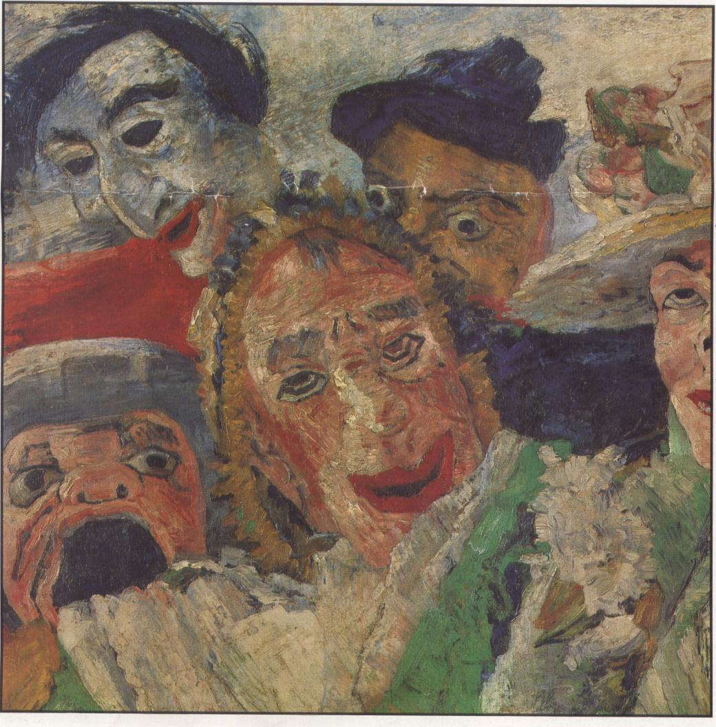 Luc de heusch - Entree schilderij ...